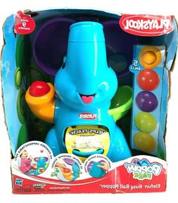 NEW! Playskool Baby/Toddler Pink Elephant Busy Ball Popper A