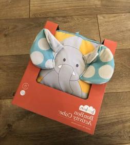 New Manhattan Toy Bonbon Soft Activity Cube Elephant Monkey