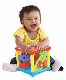 NEW VTech Busy Learners Activity Cube Frustration Free Packa
