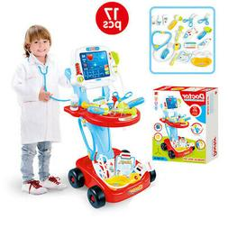 NEW Doctor Pretend Play Set W/Electric Analog X-ray Screen&S