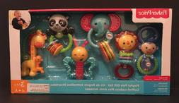 New Fisher-Price Playful Pals Gift Set Developmental Baby To