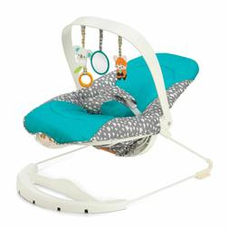NEW Infantino Gaga 2-in-1 Printed Baby Bouncer and Activity