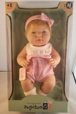 *New In Box* JC Toys Blonde Berenguer ANI Baby Girl Doll ~ P