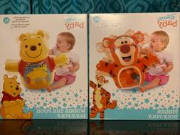 New Lot Of 2 New Disney Baby Winnie The Pooh Tigger Roly Pol