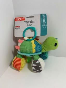 NEW NWT Infantino Go Gaga Good Bites Spring Pal TURTLE Teeth