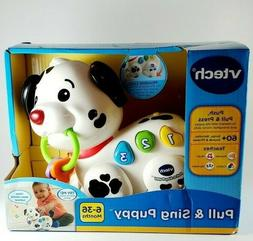 New VTech Pull and Sing Puppy Toy for 1 to 3 Year Old Toddle
