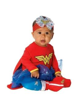 New Rubie's Baby Girls DC Comics Wonder Woman Infant Costume
