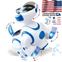 Robot Electric Dog Pet Toy Smart Kids Interactive Walking Pu