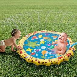 New Splash Pad for Kids Baby Toddler Water Outdoor Mat Toys