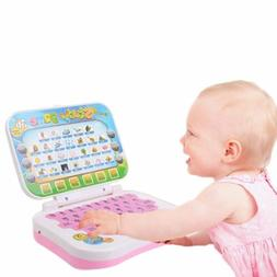 New Toddler Small Laptop Learning Study Toy For Kids Baby Ea