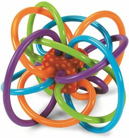 """NEW """"Winkel"""" Baby Toy Rattle Tooth Soothing Plaything from M"""