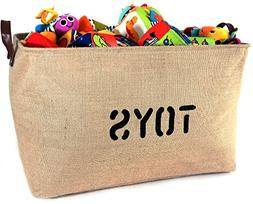 new xxxlarge jute basket toys 22long deep storage bin leathe