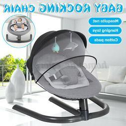 Newborn Baby Swing Sleeping Crib Chair Infant Rocking Seat M