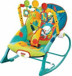 Newborn Rocker Bouncer Seat Baby Infant Chair Sleep Swing To