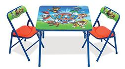 Nick Jr. Paw Patrol Activity Table and 2 Chair Set