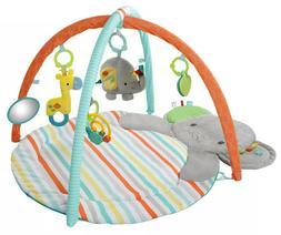 NWOB Bright Starts Hug-n-Cuddle Activity Gym Baby Elephant P