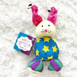 """NWT Lamaze Little Knotties Whiskers the Rabbit 7"""" Infant Toy"""