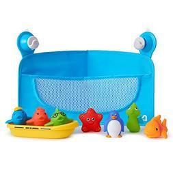 Munchkin Ocean Friends Bath Toy and Storage Set