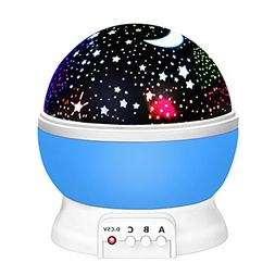 2-10 Year Old Boy Gifts, Our day Night Light Moon Star Proje