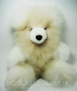 ON SALE! 15 IN Baby Alpaca Fur Teddy Bear Real STUFFED Anima