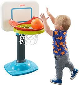 OpenBox Fisher-Price Grow-to-Pro Junior Basketball