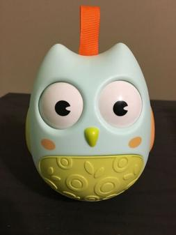 Owl Toy Baby Infant Newborn Toys Rattle Car Seat Stroller Ro