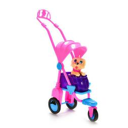 Pink Baby Buggy Stroller Dollhouse Nursery Furniture Toy For