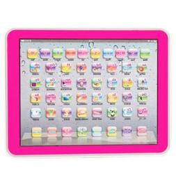 Pink Baby Tablet Educational Toys Girls Toy 1-6 Year Old Tod