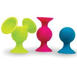 Fat Brain Toys pipSquigz Suction Building Set Preschool Developmental Game