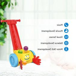 Plastic Baby Scoop Whirl Ball Popper Walker Toddler Music Wa