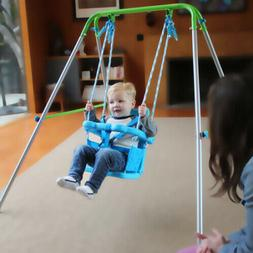 Playground Indoor Outdoor Toddler Swing Set Fun Play Baby To