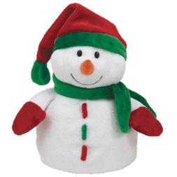 """TY PLUFFIES NWT """"ICICLES"""" SNOWMAN 2010 TYLUX"""