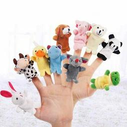 Plush Animal Finger Puppets Baby Dual-layer Storytelling Pro