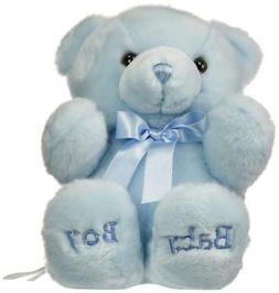 "Aurora Plush Baby 10""  Comfy Blue Boy Bear Baby Shower Nurse"