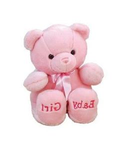 "Aurora Plush Baby 10""  Comfy Pink Girl Bear Baby Shower Nurs"