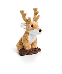 Demdaco Baby Plush Beanbag, Deer