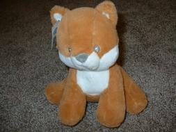 Baby Gund Plush Fox Toy Stuffed Animal Small Rococo Dog Brow