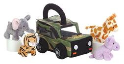 "Aurora Plush Baby 6"" My Photo Safari Carrier with Sound"