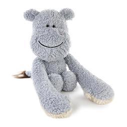 DEMDACO Plush Toy, Hugzies Hippo