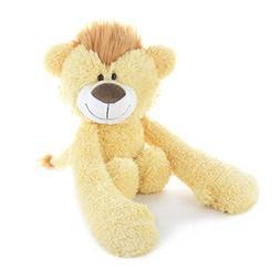 DEMDACO Plush Toy, Hugzies Lion