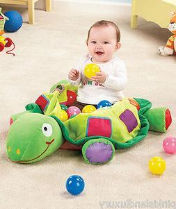 PLUSH TURTLE BALL PIT BABY Toddler Developmental Activity Le