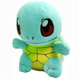 Pokemon Squirtle Stand Figures Plush Soft Toy Stuffed Doll 6