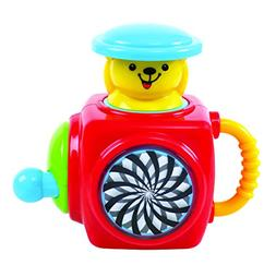 KidSource Pop-Up Bear - Musical Jack-in-the-Box Toy - Classi