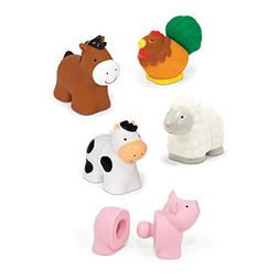 Melissa & Doug Pop Blocs Farm Animals