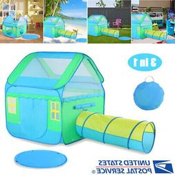 Portable Kid Baby Play House Toy Tent Playhouse 3 in 1 Ball
