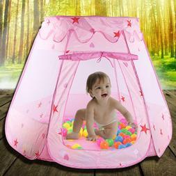 Portable Princess Baby Play Tent Balls Toys Indoor Outdoor P