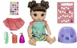 Baby Alive Potty Dance Baby: Talking Baby Doll with Brown Ha