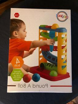 Playkidz Pound a Ball; baby toy; toys; ramp toy; hammer toy;