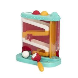 Battat – Pound & Roll – Baby Activity Toy Station with 1