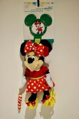 Kids Preferred Disney Baby MINNIE MOUSE ACTIVITY TOY w Clip